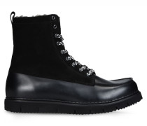 Combat Boots aus Leder