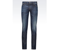 J23 PUSH-UP JEANS IN DUNKLER WASCHUNG