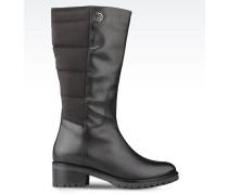 Stiefel aus Nylon und Leder