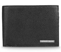 Aufklappbares Portemonnaie aus Kunstleder