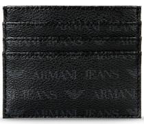 Kreditkartenetui aus PVC mit Logo-Muster