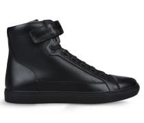 Hohe Sneaker aus Leder