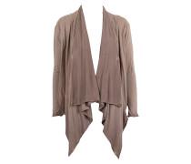 Damen Jerseyjacke beige
