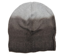 Mütze braun/grau Degradé