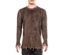 Herren Pullover braun