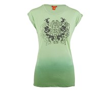 Jet Set Damen T-Shirt COLIB TATTOO grün Gr. 40