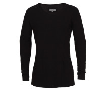 Langarm Woll Shirt GOLIA schwarz