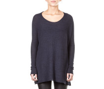 Hannes Roether Damen Pullover INGA 101 oversized blau