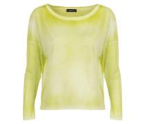 Baumwoll Shirt gelbgrün
