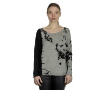 Pullover FRAGMENT schwarz grau