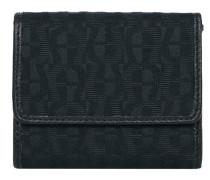 Geldbörse Canvas schwarz