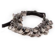Silber Armband BR1106 silber schwarz