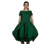 Dip Kleid mit Ballonrock grün