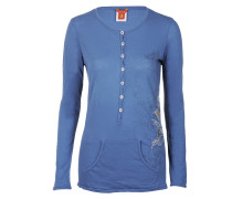 Jet Set Damen Langarmshirt POLINE blau Gr. 40