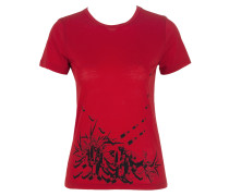 Damen T-Shirt LIPSTICKS rot