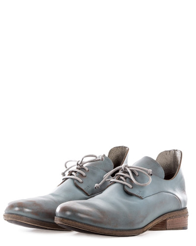 Damen Schnürschuhe blau