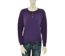 Damen Kaschmir Pullover violett