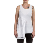 Damen Top Avantgarde weiß