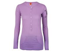Damen Langarmshirt POLINE lila Gr. 38