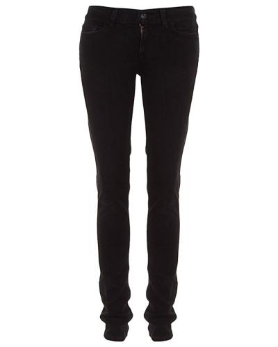 Damen Jeans schwarz Gr. 25