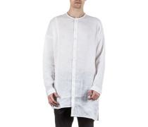 Herrenhemd lang weiß