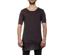 Thom Krom Herren T-Shirt Layer Look grau