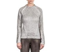 Damen Pullover BABETTE LAM silber
