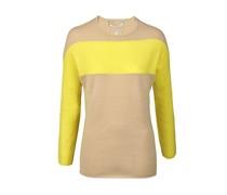 Dear Cashmere Pullover beige/gelb