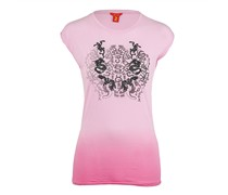 Jet Set Damen T-Shirt COLIB TATTOO pink