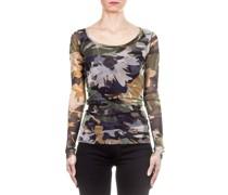 Langarmshirt Camouflage multicolour