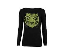 Amor & Psyche Kaschmir Sweater Tiger Neongelb