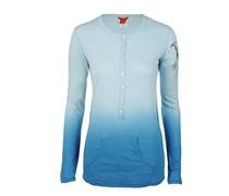 Jet Set Damen Langarmshirt POLINE blau