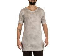 Herren T-Shirt Viskose Seide hellgrau