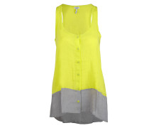 Damen Top gelb grau Gr. L