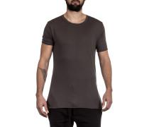 Herren Rundhals T-Shirt grau