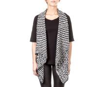 Damen Strickweste KARBY 111 schwarz weiß