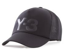 Y-3 Baseballkappe TRUCKER CAP schwarz