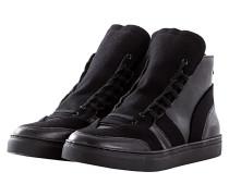Back Zip Sneakers black