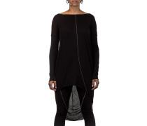 Thom Krom Damen Langarmshirt / Kleid schwarz
