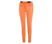 Reversible Jeans zum Wenden tutti frutti / orange