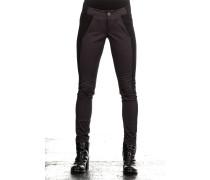 Damen Hose Avantgarde grau schwarz