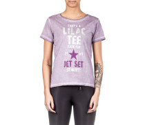 T-Shirt LACY flieder
