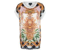 Oversized Shirt maritim baroque weiß