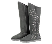 Collective Stiefel ANGEL Tall charcoal