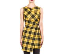 Damen Kleid mit Tartanmuster multicolour