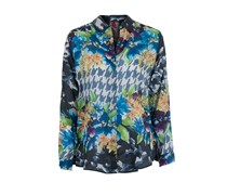 Johnny WAS Seiden Bluse BUTTON floral