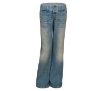 Diesel Damen Jeans HIPPER 0087H blau