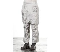 Dip Damen Sarouelhose mit Zip Avantgarde grau