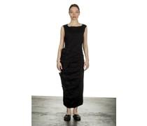 Kleid in Midi-Länge schwarz