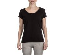 Damen Baumwoll Shirt schwarz